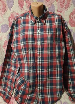 Рубашка tommy helfiger , р. xxl