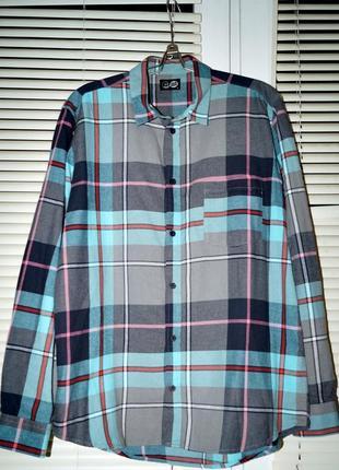 Оригинальная клетчатая рубашка фирмы cheap monday