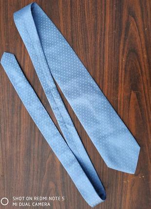 Шелковый галстук hugo boss...