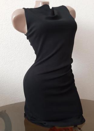 Платье манго , маленькое черное платье, размер s