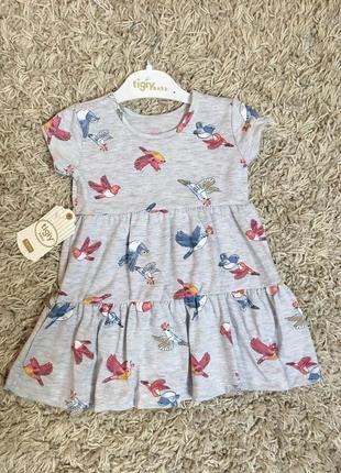 Летнее платье, сарафан для девочки 80-122