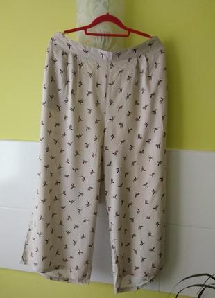 Симпатичные летние брюки кюлоты от bonmarchhe