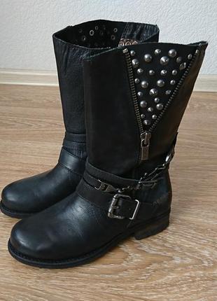 Ботинки кожаные replay оригинал размер 39