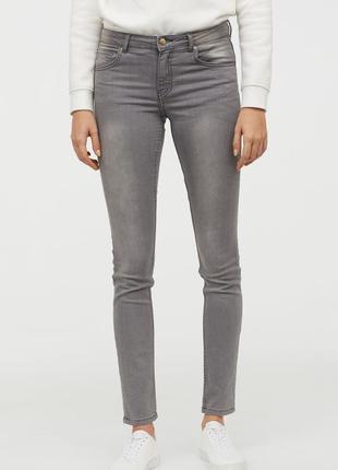 Оригинальные брюки суперстретч от бренда h&m разм. 44