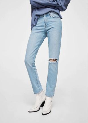 Святковий розпродаж 🛍 джинси girlfriend mango relaxed fit 34 (на 36)