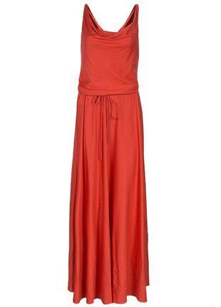 Diane von furstenberg макси платье шёлк джерси р 44