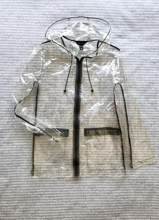 Дождевик плащ прозрачный виниловый купить цена