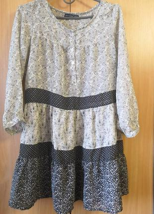 Удлиненная блуза- туника atmosphere