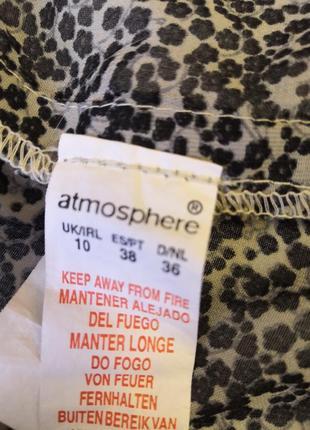 Удлиненная блуза- туника atmosphere6 фото