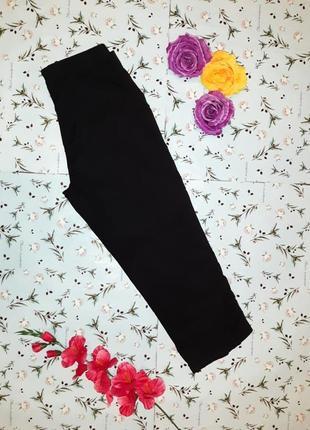 Акция 1+1=3 стильные базовые черные бриджи капри george, размер 48 - 50