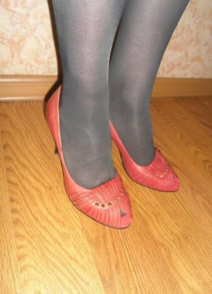 Изящные туфельки /нат.кожа/sailase/ 24 см