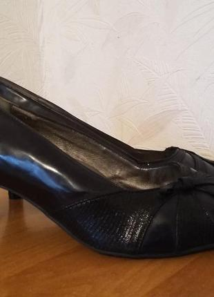 Туфли, ортопедические, лаковая кожа, 41-41,5 ,  van dal.