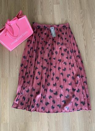 Невероятная юбка плиссе