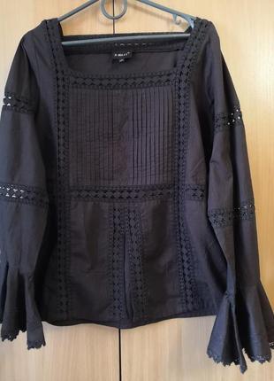 Красивая ,брендовая  блуза x-mail, размер с