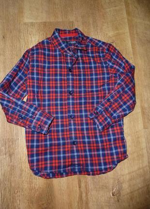 Next коттоновая рубашка некст на 4 лет рост 104 см, 100 % коттон, индия