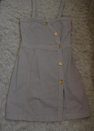 Дизайнерское платье-сарафан, джинс, see by chloe