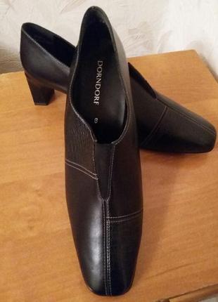 Ботинки, туфли, 41-41,5 , натуральная кожа,  dondorf, германия