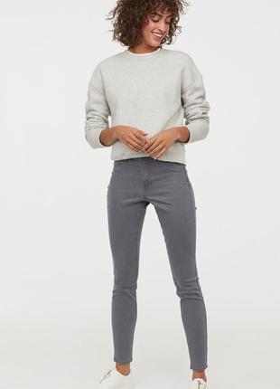 Оригинальные джинсы-skinny regular ankle от бренда h&m разм. 32