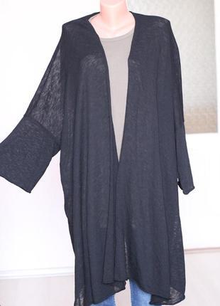Черный кардиган зара 36- 38 размер с м zara