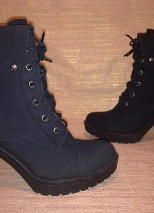 Стильные ботинки = firetrap = 100% нат .кожа_сша, канада ! сост.новых! 40 р