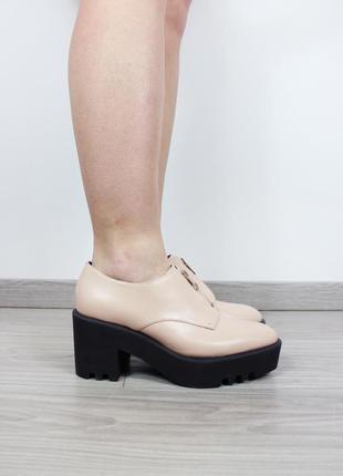 26b85a6c6 Женские туфли на толстой подошве 2019 - купить недорого вещи в ...