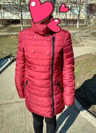 Куртка марсала
