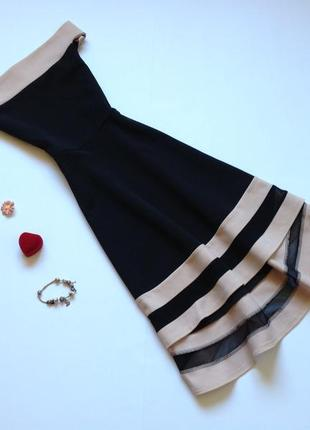 Платье quiz с открытыми плечами