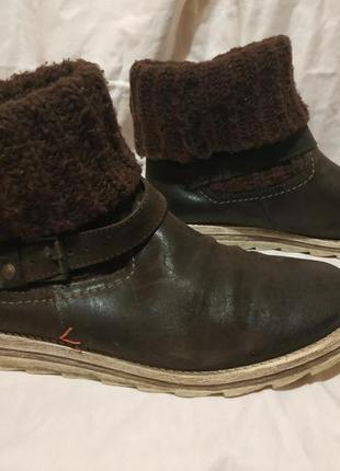Стильные ботинки bullboxer 100% натуральная кожа 39р.