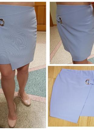 Короткая юбка с имитацией запаха atmosphere