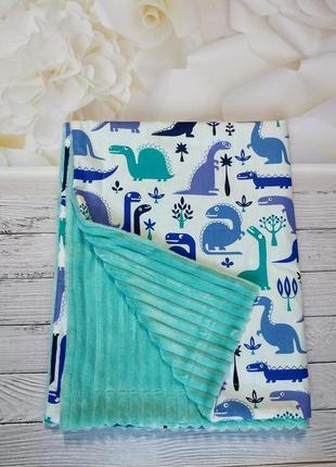 Плюшевый плед, конверт на выписку, одеяло в кроватку