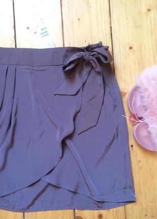 Стильная юбка запах