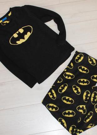 Пижама флис batman на 6 лет