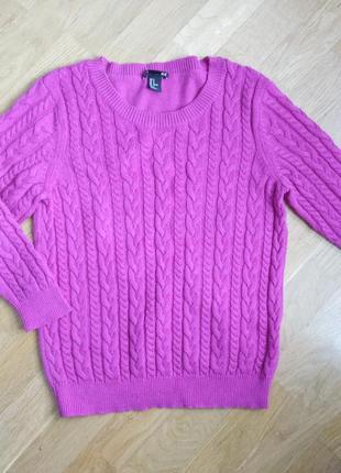 Пуловер косы от h&m