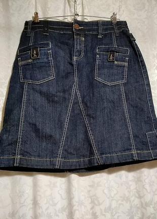 Юбка джинсовая fitt jeans