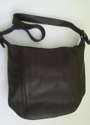 Кожаная сумка - торба