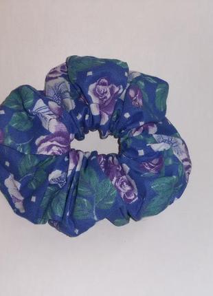 Резинка для волос цветочная розы