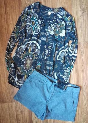 Джинсовые тонкие шорты, размер с