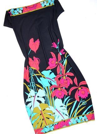 Wallis. платье с ярким рисунком. м-ка. 10