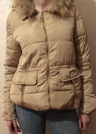 Куртка с натуральным мехом 🔥3