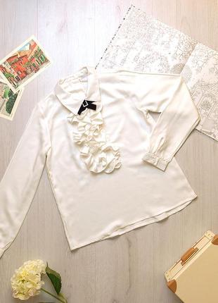 Наярядная блузка для девочки piazza italia италия