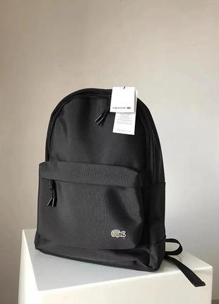 Рюкзак унисекс на каждый день в университет, в школу, на работу бренда lacoste