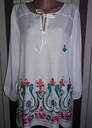Блуза , вышиванка  р.12