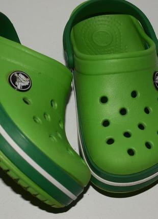 Кроксы c8/c9 ,25-26р crocs