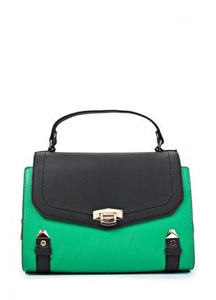 Шикарная сафъяновая сумка river island оригинал-сток