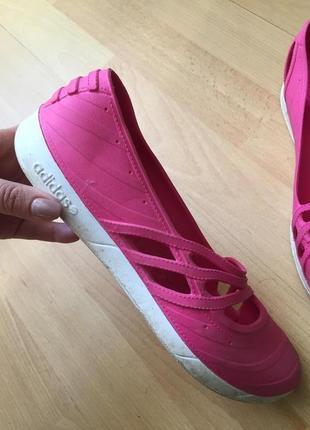 Балетки мокасины adidas