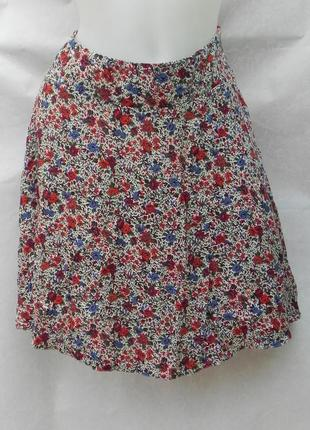Юбка юбочка легкая веселенькая цветная f&f