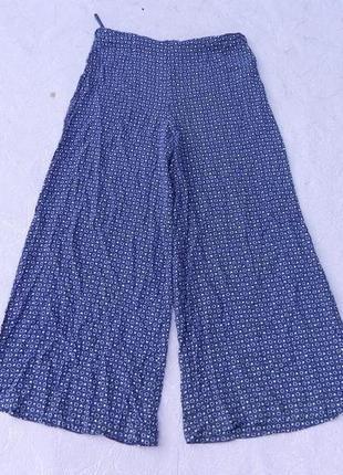 Штаны брюки-юбка широкие new look