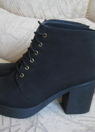 Ботинки topshop, 40 размер