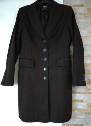 Пальто , плащ, шерстяное пальто.
