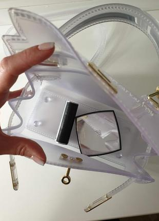 Хит сезона! стильная сумка crossbody - small white6